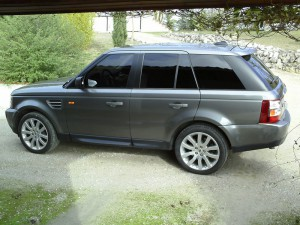 Range Rover vue latérale