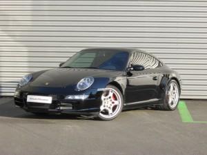 Porsche 911 vue de face