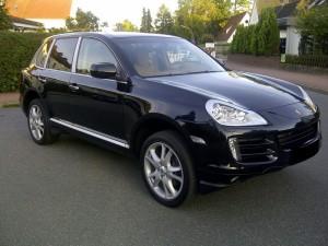 Porsche Cayenne vue de face