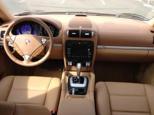 Porsche Cayenne vue intérieure