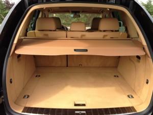 Porsche Cayenne coffre