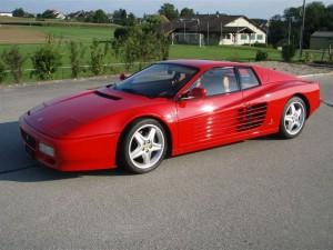 Ferrari 512 TR face