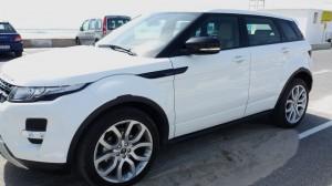 Range Rover Evoque face vu de face