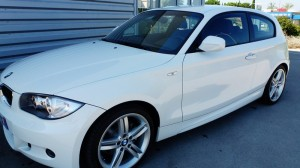 BMW 120D Coupe avant