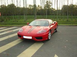 Ferrari  F360 Modena F1 avant