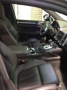 Porsche Cayenne II interieur