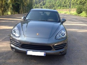 Porsche Cayenne II avant