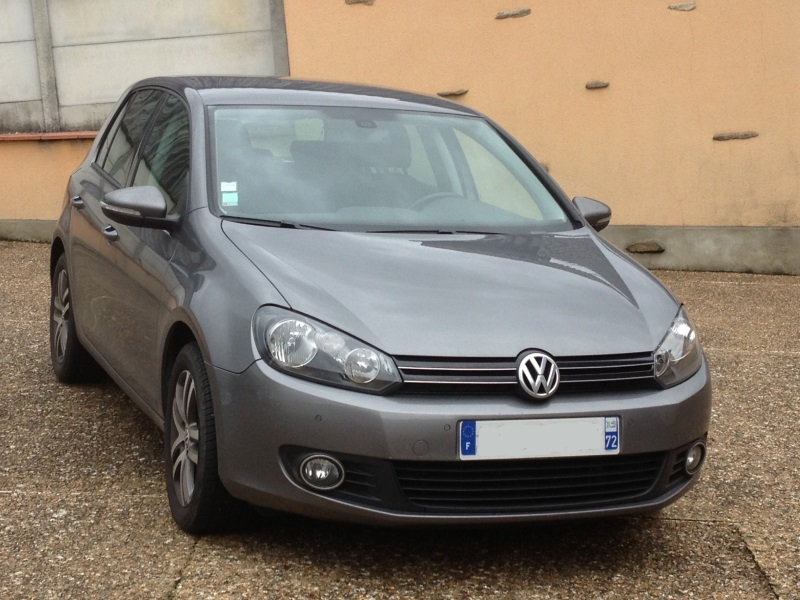 volkswagen golf vi 1 6 tdi 105ch confort bluemotion dsg7 5p car fever. Black Bedroom Furniture Sets. Home Design Ideas