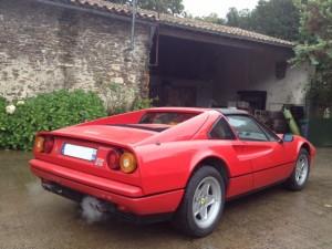 Ferrari 328 GTS arriere