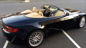 Aston Martin V8 Vantage Roadster BVA6 arriere
