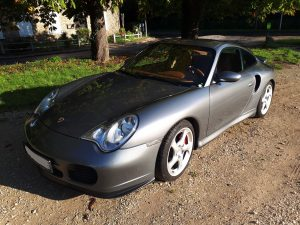 PORSCHE 996 3.6 TURBO TIPTRONIC avant