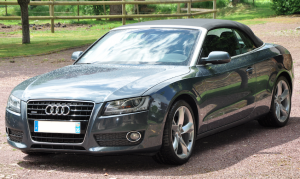 AUDI A5 CABRIOLET 3.0L V6 TDI 240ch AMBITION LUXE QUATTRO S TRONIC avant
