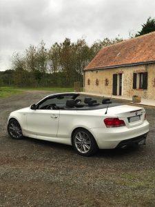 BMW SERIE 1(E88) CABRIOLET 120D 177ch SPORT DESIGN arriere