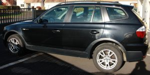 BMW X3 2.0D 150ch Confort lateral