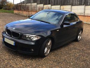 BMW SERIE 1 (E82) COUPE 120D 177CH SPORT DESIGN avant