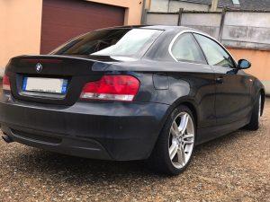 BMW SERIE 1 (E82) COUPE 120D 177CH SPORT DESIGN arriere