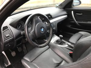 BMW SERIE 1 (E82) COUPE 120D 177CH SPORT DESIGN int