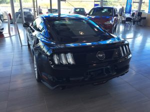 FORD MUSTANG IV FASTBACK 2.3 ECOBOOST 317ch PACK PREMIUM arriere