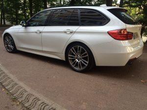 BMW 318 D TOURING 143ch M SPORT arriere