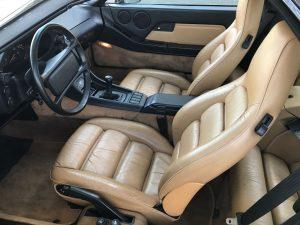 PORSCHE 928 GT V8 5.0L 330 CH int