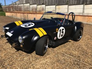 SHELBY COBRA 1964 REPLIQUE DE PIGEON PERFORMANCE avant