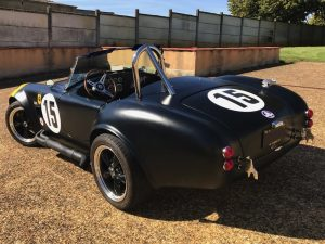 SHELBY COBRA 1964 REPLIQUE DE PIGEON PERFORMANCE arriere