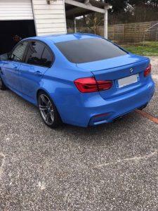 BMW M3 F80 431ch DKG7 arriere