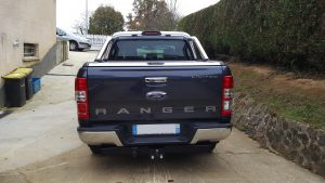 FORD RANGER 3.2 TDCI 200ch AUTO DOUBLE CAB LIMITED arriere 2