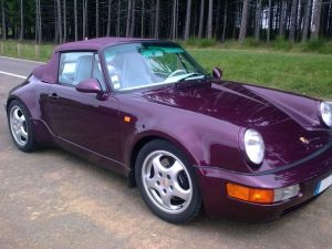 PORSCHE 964 CABRIOLET CARRERA 2 TURBO LOOK avant