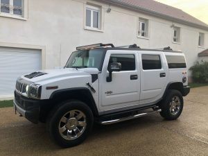 HUMMER H2 6.2 V8 398 LUXURY BVA, HUMMER H2 LUXURY BVA, HUMMER H2, HUMMER, H2 lateral