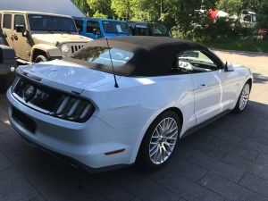 FORD MUSTANG VI FASTBACK CONVERTIBLE 5.0L V8422ch PREMIUM arriere