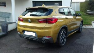 BMW X2 XDrive 20d 190ch M Sport arriere