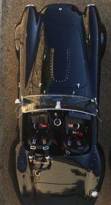AC Cobra HTM 427 dessus