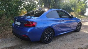 BMW (F22) coupe M235IA 326ch arriere