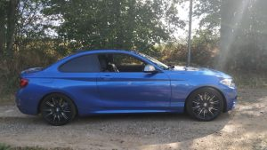 BMW (F22) coupe M235IA 326ch lateral