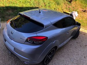 RENAULT MEGANE RS COUPE 3 2.0T 275CH arriere