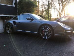 PORSCHE 997 TURBO PHASE 2 3.8L 500CH PDK lateral
