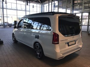MERCEDES CLASSE V 250 MARCO POLO arriere